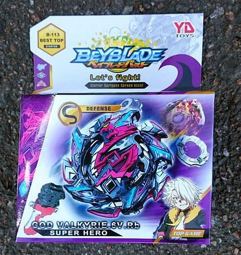 Бейблейд B-113 Beyblade Salamandra YD toys бей c пускачем 3й сезон Хіт !!!