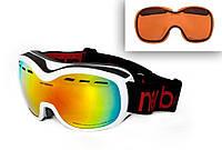 Маска-очки фирмы New Balans(INFINITE White REVO)