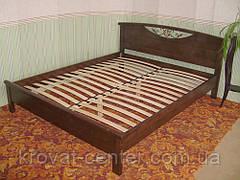 """Кровать полуторная из массива дерева """"Фантазия"""" от производителя, фото 2"""