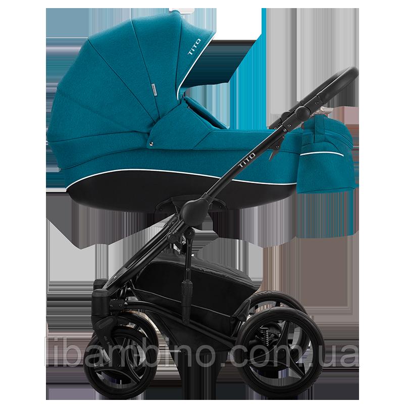 Дитяча універсальна коляска 2 в 1 Bebetto Tito 01