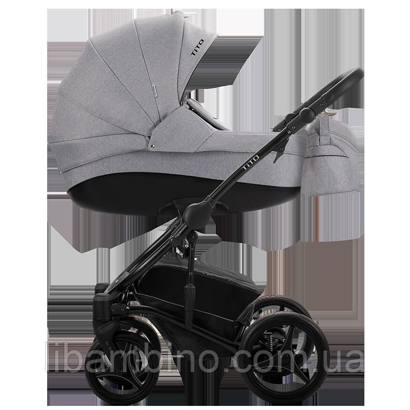 Дитяча універсальна коляска 2 в 1 Bebetto Tito 02