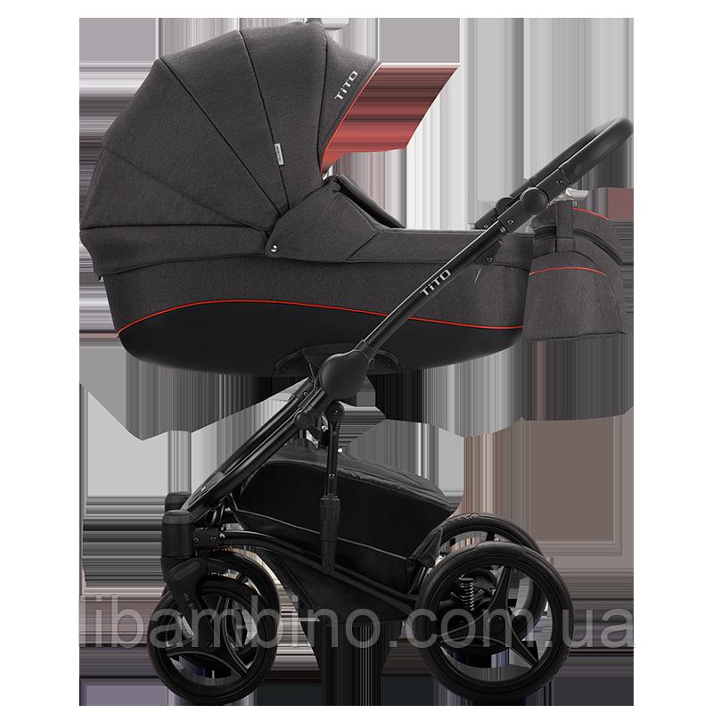 Дитяча універсальна коляска 2 в 1 Bebetto Tito 04