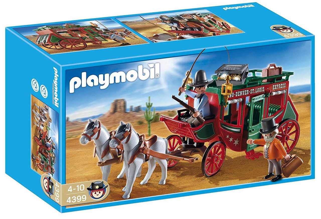 Playmobil 4399 Диліжанс Western Плеймобил Дилижанс