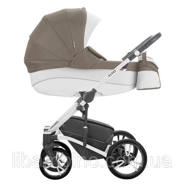 Дитяча універсальна коляска 2 в 1 Bebetto Tito S-Line CH03