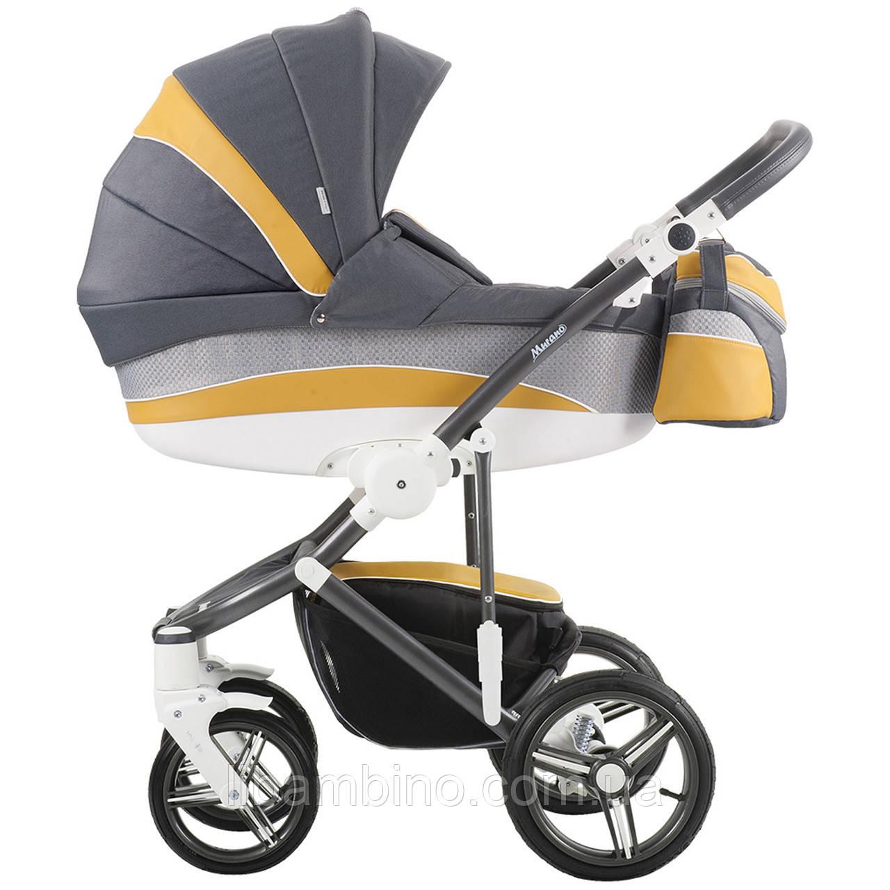 Дитяча універсальна коляска 2 в 1 Bebetto Murano 12M