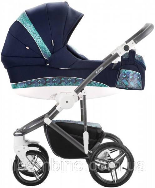 Дитяча універсальна коляска 2 в 1 Bebetto Murano 14M