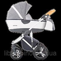 Дитяча універсальна коляска 2 в 1 Bebetto Bresso 01 White