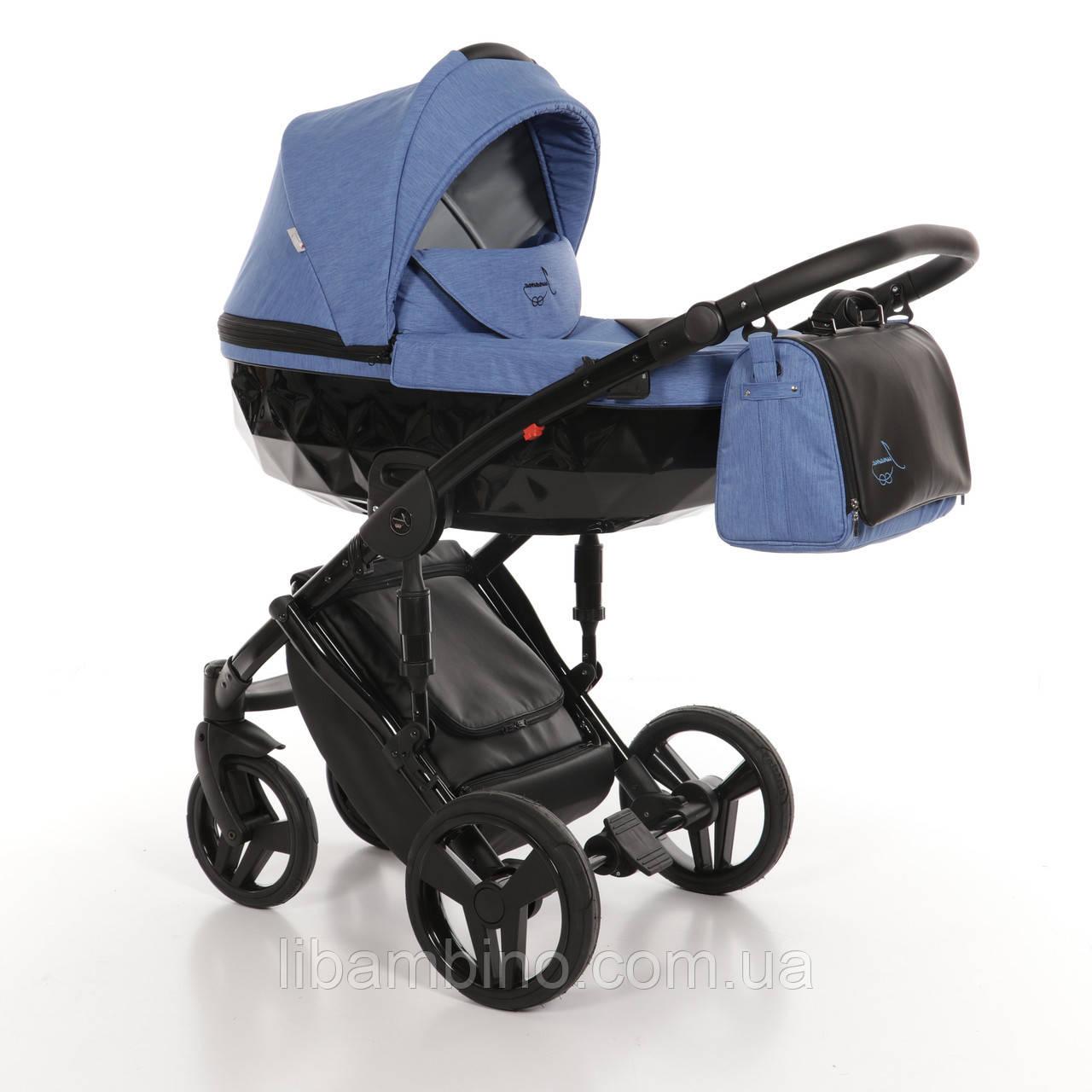 Дитяча універсальна коляска 2 в 1 Junama Diamond 09