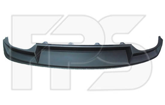 Спойлер заднего бампера Skoda Octavia A7 Liftback '13- (FPS) без выреза под фаркоп 5E5807521, фото 2
