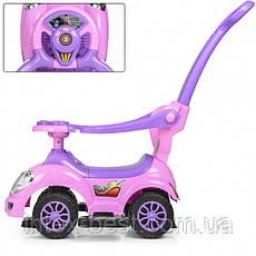 Каталка-толокар Bambi HZ 558 W-8-9 Pink/Lilas, фото 2