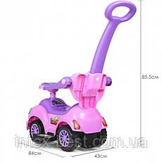 Каталка-толокар Bambi HZ 558 W-8-9 Pink/Lilas, фото 3