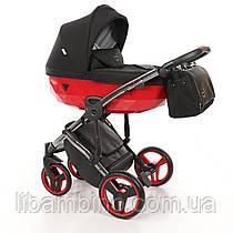 Дитяча універсальна коляска 2 в 1 Junama Diamond S-line Red