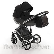 Дитяча універсальна коляска 2 в 1 Junama Diamond S-line Silver