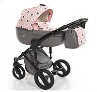 Дитяча універсальна коляска 2 в 1 Junama Fashion Pro Flower