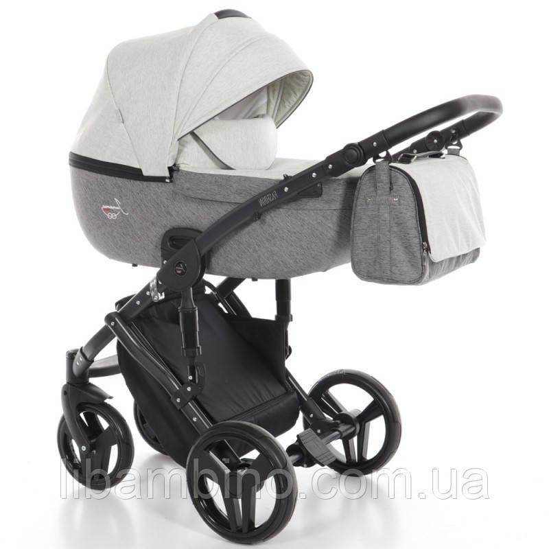 Дитяча універсальна коляска 2 в 1Junama Fashion Pro 03 Beige/Grafit