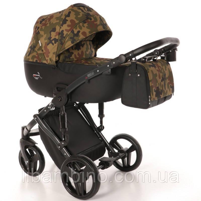 Дитяча універсальна коляска 2 в 1 Junama Fashion Pro Army