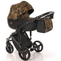 Дитяча універсальна коляска 2 в 1 Junama Fashion Pro Army, фото 1