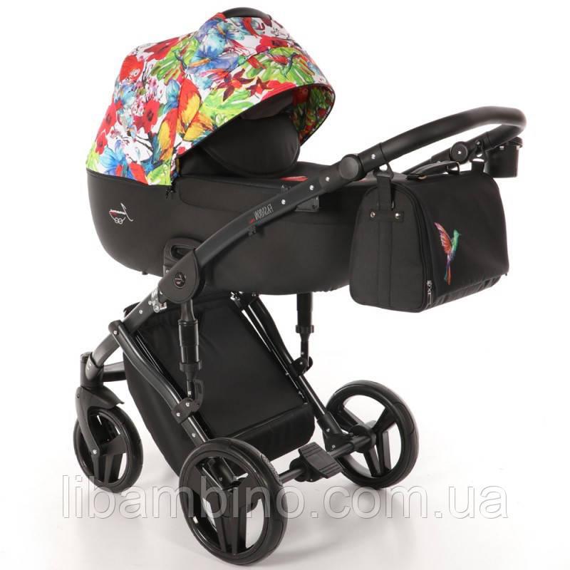 Дитяча універсальна коляска 2 в 1 Junama Fashion Pro Jungle