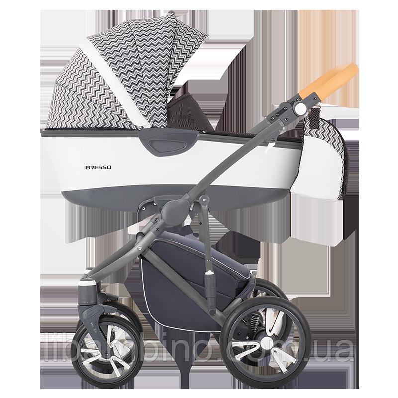 Дитяча універсальна коляска 2 в 1 Bebetto Bresso 02 Graphite
