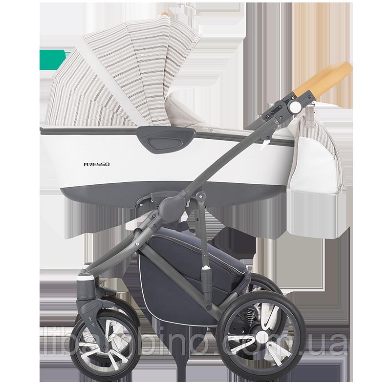 Дитяча універсальна коляска 2 в 1 Bebetto Bresso 08 Graphite
