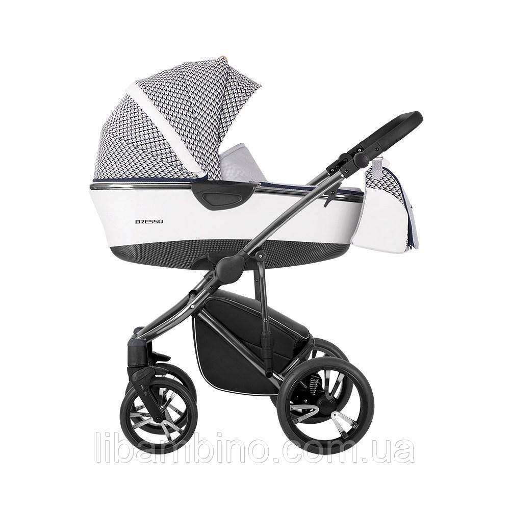 Дитяча універсальна коляска 2 в 1 Bebetto Bresso Premium 01