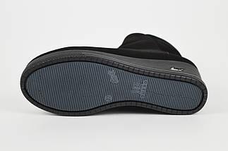 Классические замшевые ботинки на танкетке Guero 8558, фото 3