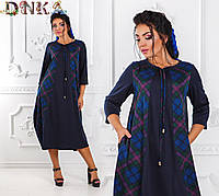 Шикарное модное  женское платье в размерах 50-56, фото 1