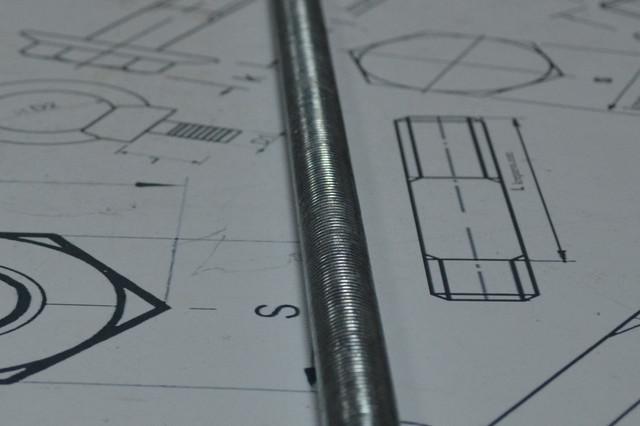 Шпилька резьбовая М52 DIN 975 оцинкованная - купить