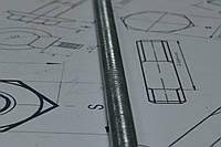 Шпилька резьбовая М52 DIN 975 оцинкованная, фото 1