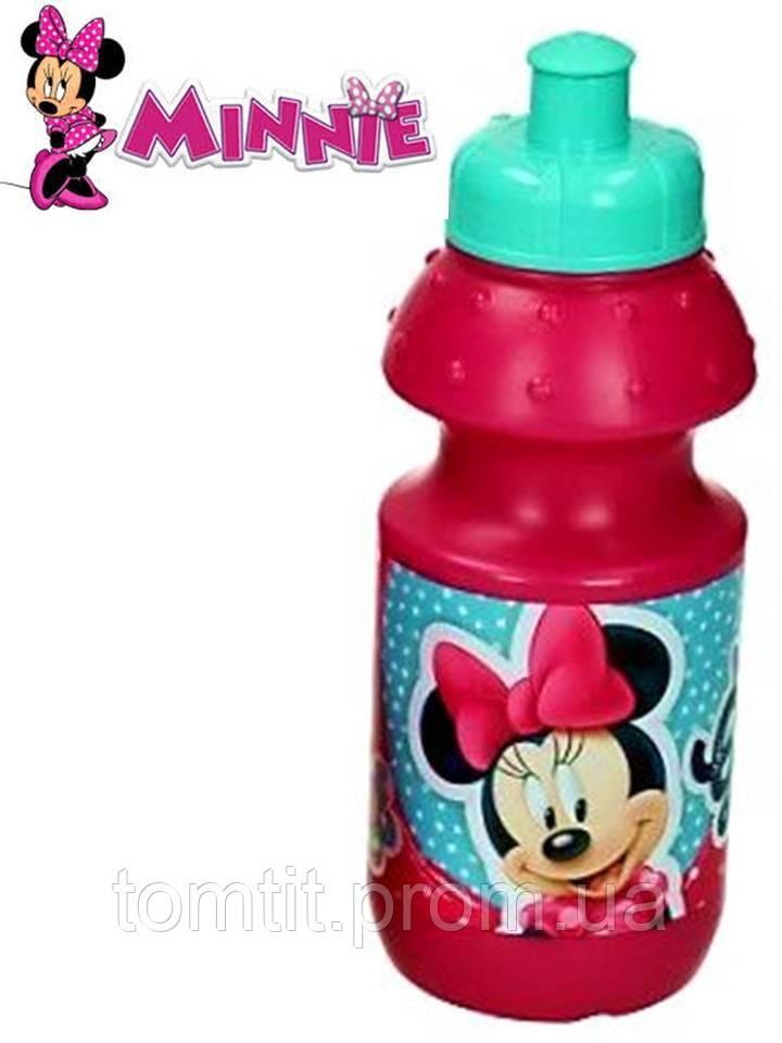 """Бутылочка для питья """"Minnie - Минни"""", цвет малиновый"""