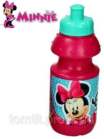 """Бутылочка для питья """"Minnie - Минни"""", цвет малиновый, фото 2"""