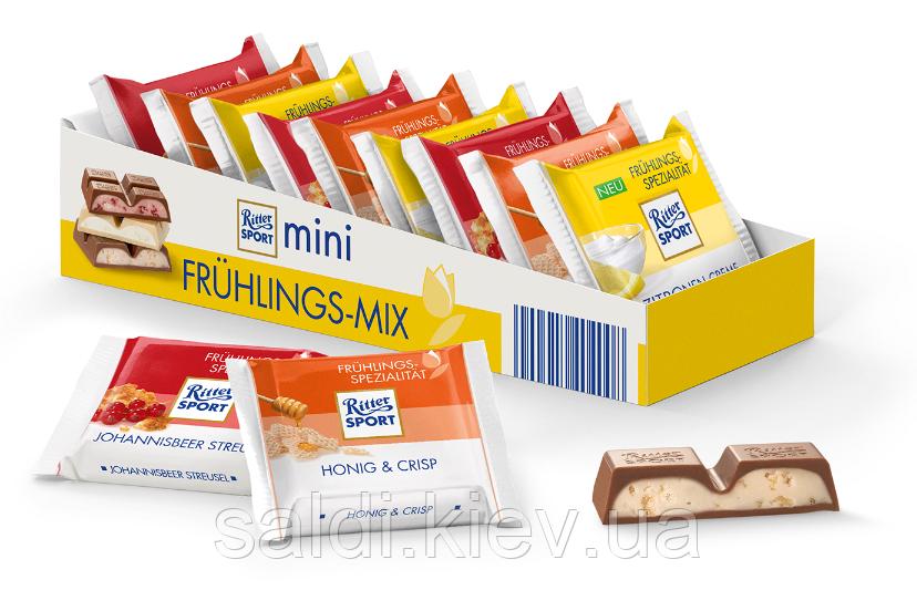 "Ritter Sport набор мини-шоколад ""Весенняя коллекция 4 вкуса 150г."