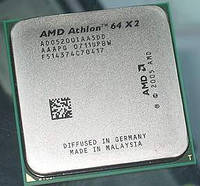 Процессор AMD Athlon 64 X2 5200+ (2700MHz), sAM2, tray