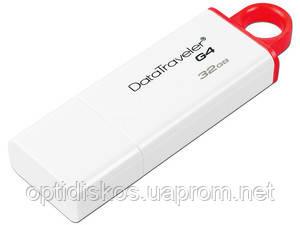 Флешка Kingston Flash Drive DTIG4 32Gb, USB 3.0, белая