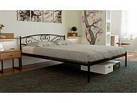 Кровать одноярусная металлическая Milana Метакам для подростков, гостиниц, баз отдыха без изножья, 90х190(200)