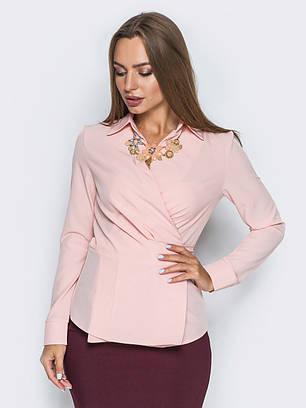 (XS, S, M, L, XL) Вишукана жіноча рожева блузка Divalis
