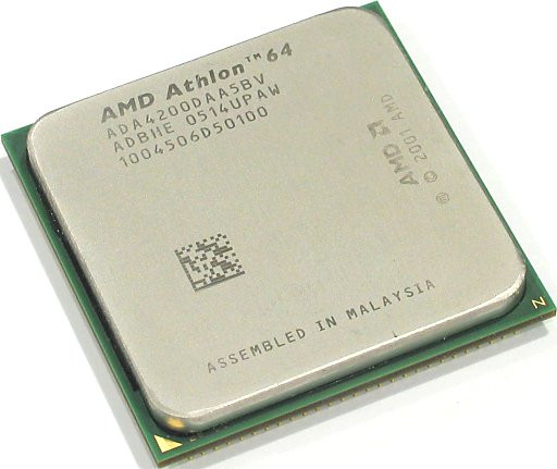 Процессор AMD Athlon 64 X2 4200+ (2200MHz), sAM2, tray