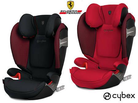 Автокресло Cybex Solution S-Fix for Scuderia Ferrari, фото 2