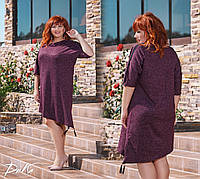Красивое платье с ангоры в размерах 46-56, фото 1