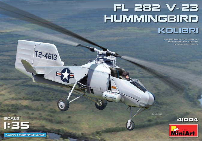 Fl 282 V-23 ВЕРТОЛЕТ HUMMINGBIRD (КОЛИБРИ). 1/35 MINIART 41004, фото 2