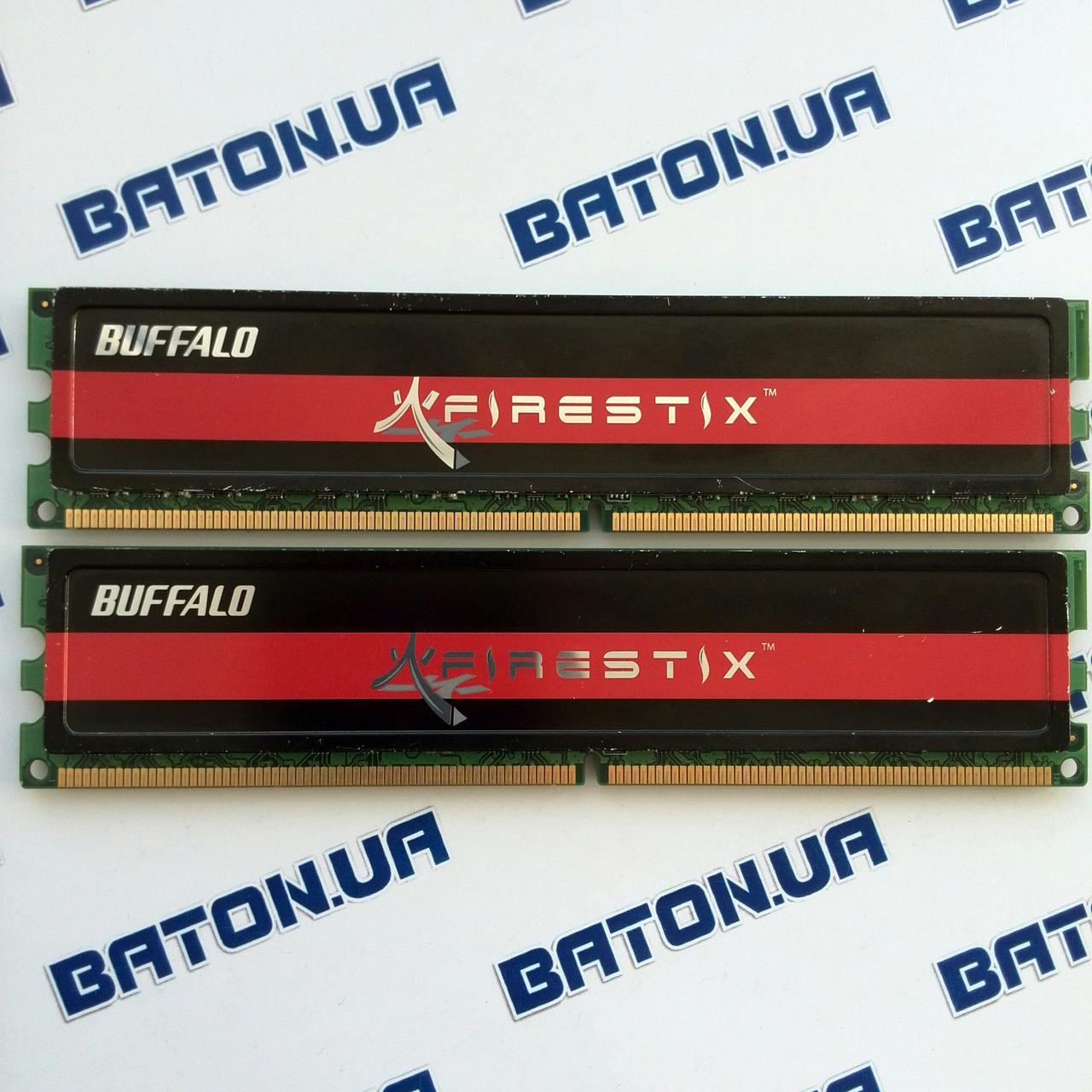 Игровая оперативная память Buffalo DDR2 2Gb+2Gb 800MHz PC2 6400U CL4 (FSH800D2B-2G)