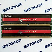 Игровая оперативная память Buffalo DDR2 2Gb+2Gb 800MHz PC2 6400U CL4 (FSH800D2B-2G), фото 1
