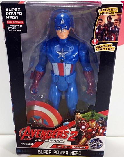 Фигурка Капитан Америка Супергерой Марвел 18 см