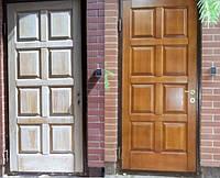 Устранение сколов в деревянных дверях