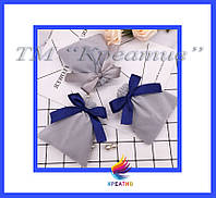 Мешочки для ювелирных украшений разных размеров с вашим логотипом (под заказ от 100-500 шт.), фото 1