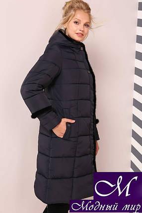 Женская зимняя куртка больших размеров (р. 50-64) арт. Анеля, фото 2