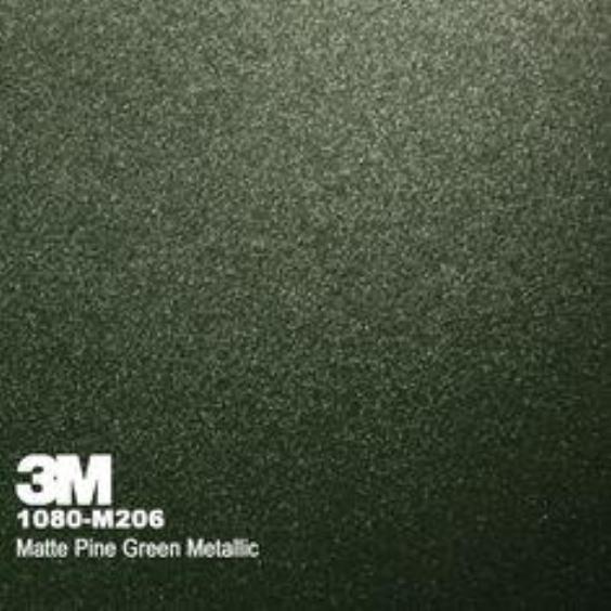 3M 1080 Matte Pine Green Metallic М206