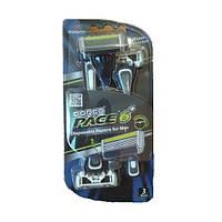 Одноразовый станок DORCO PACE 6 Plus + тример (3 шт)