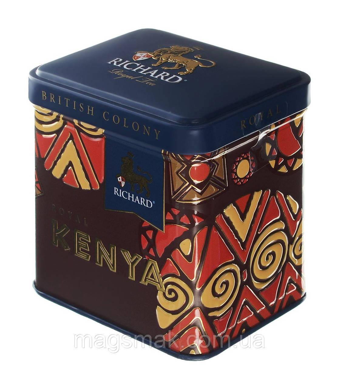 Чай Richard Royal Kenya, ж/б, листовой, 50 г