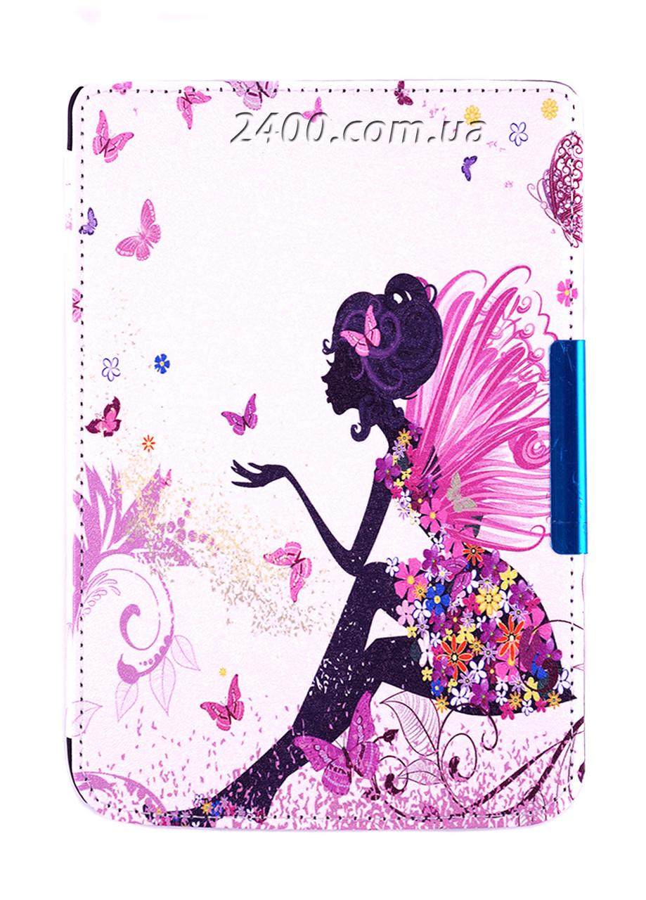 Обложка - чехол для электронной книги PocketBook 614/615/624/625/626/Touch Lux 3 с графикой Фея